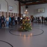 Juletræ i gymnastiksalen