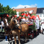 Nye studenter i hestevogn