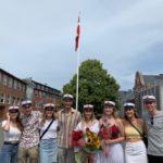 Gruppe af nye STX studenter